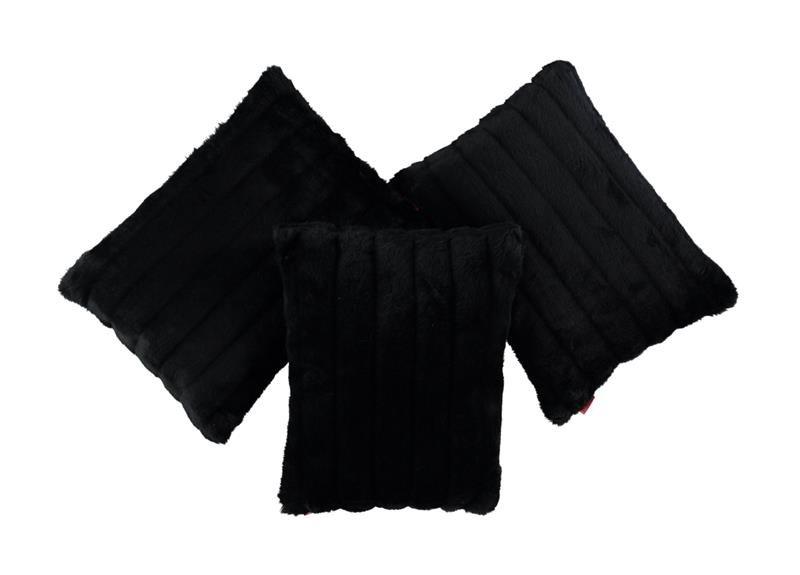 pillows cushions cushion fur cover black italian pillow faux wolf