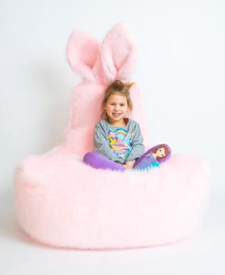 SAKO bean bag bunny, 90x70x60 CM