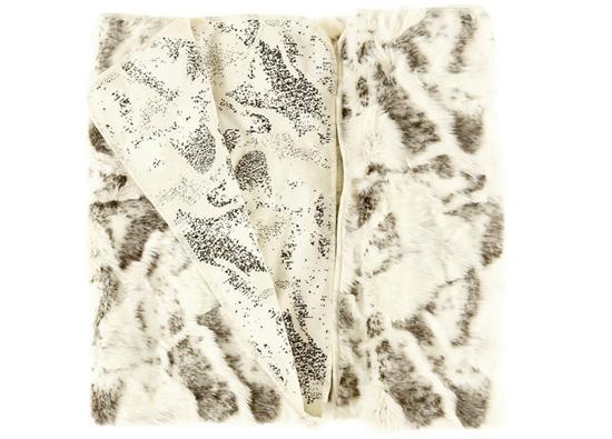 Koc, narzuta KOZA beżowy 150x200 cm