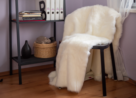Decorative faux fur set ANGELO