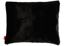 Faux fur pillow MINK black 40x50 cm