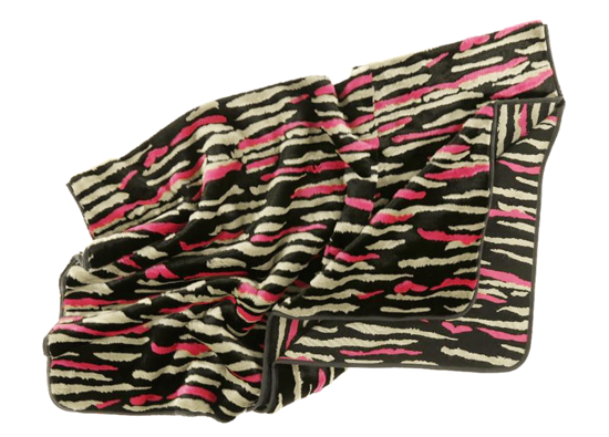 Decorative faux fur set NIGHT WAVES