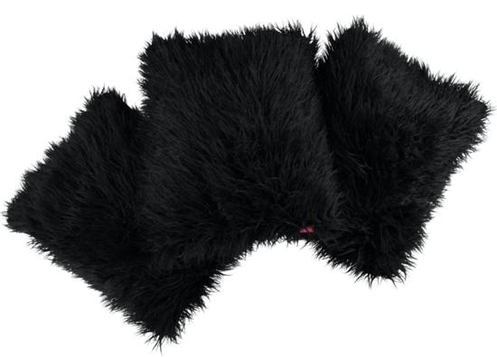 Decorative faux fur pillow LUMA