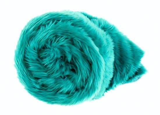 Decorative faux fur bedspread LAGUNA KALA