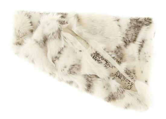 Faux fur pillow GOAT beige 40x50 cm