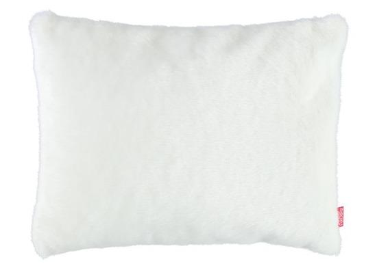 Faux fur pillow MINK white 40x50 cm