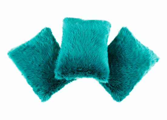 Decorative faux fur pillow LAGUNA KALA