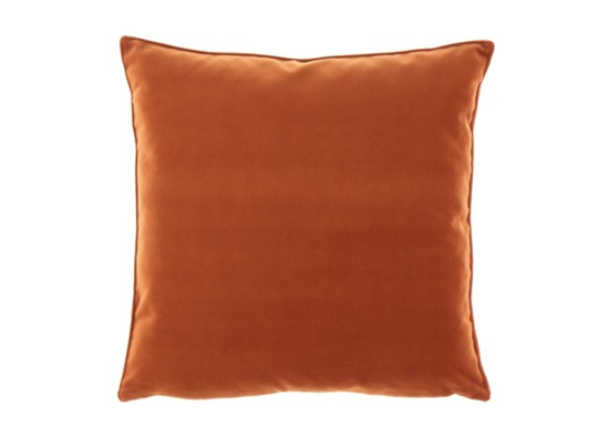 VELVET PILLOW ginger 45x45 cm