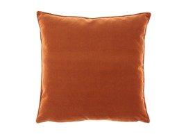 Poduszka Ruda dekoracyjna z aksamitu ROMEO