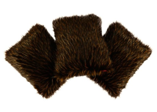 Poduszka dekoracyjna z futra JENO
