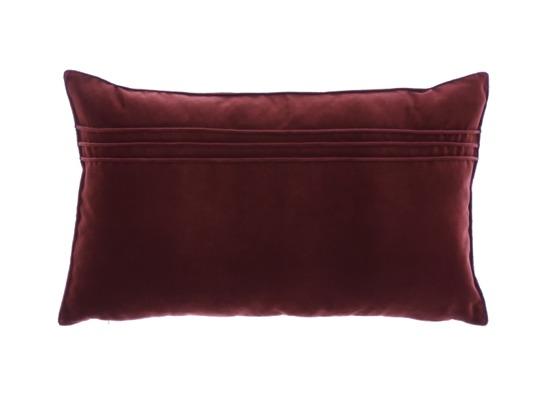 Poduszka Brązowa dekoracyjna z aksamitu JULIA