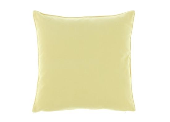 Poduszka Ecru dekoracyjna z aksamitu ROMEO
